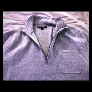 Banana republic men's half-zip sweater
